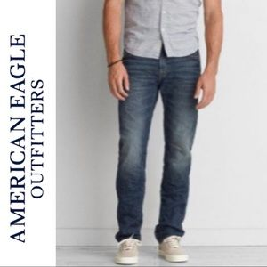 American Eagle Outfitters Men's Straight Leg Jean